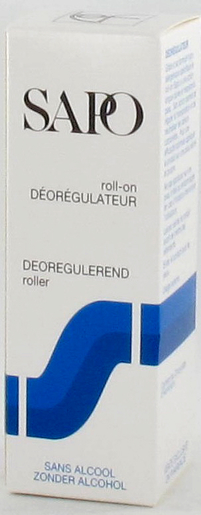 Sapo Deo Roll-on Z/alcohol 50ml | Klassieke deodoranten