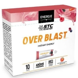 Over Blast Instant Energy Fruits Rouges 10 Dosettes