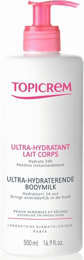 Topicrem Ultra-Hydratant Lait Corps 500ml | Hydratation - Nutrition