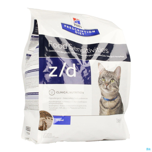 Hills Prescription Diet Feline ZD Low Allergy 2kg 4565m