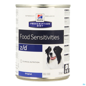 Hill's Prescription Diet Food Sensitivities Chien Z/D 370g