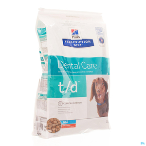 Hill's Prescription Diet T/D Mini Chien Poulet 3kg