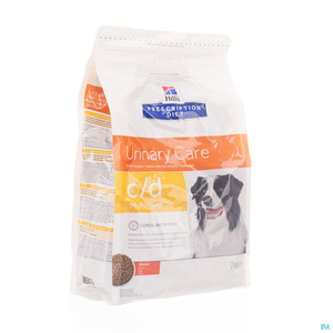 Hill's Prescription Diet Urinary Care C/D Chien poulet 2kg