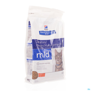 Hill's Prescription Diet Diabetes/Weight Management Chat Poulet 1,5kg