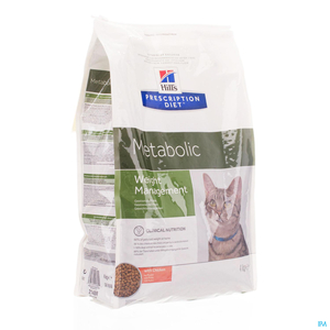 Hill's Prescription Diet Metabolic Weight Management Chat Poulet 4kg