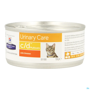 Hill's Prescription Diet Urinary Care C/D Chat Poulet 156g