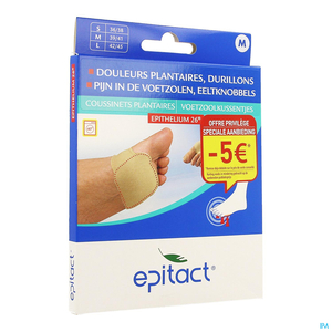Epitact 1 Paire Coussinets Plantaires Taille Medium (offre privilège)