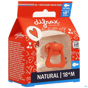 Difrax Sucette Natural +18m