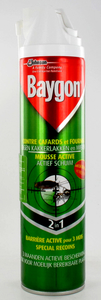 Baygon Vert Contre Insectes Rampants Spray 400ml