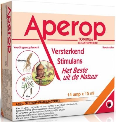 Aperop Tonique Ampoules Buvables 14x15ml | Forme - Energie