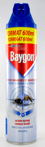 Baygon Bleu Spray Insect Volant 600ml