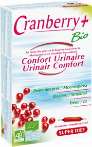 Super Diet Cranberry+ Bio 20 Ampoules x 15ml