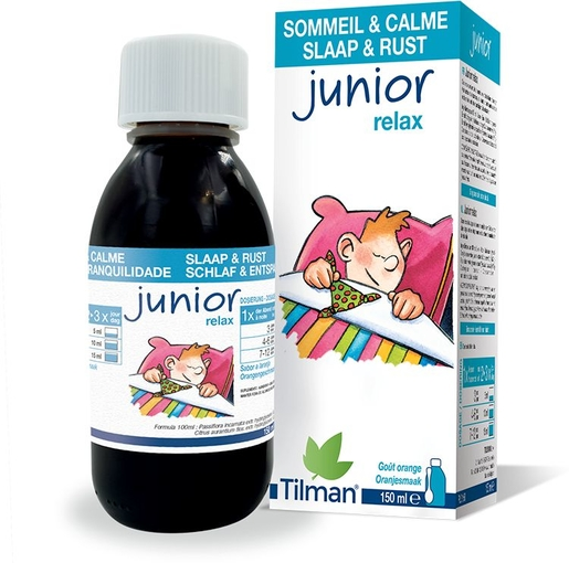 Junior 0-10 Relax Siroop Kind 150ml | Ontspanning - Antistress