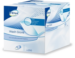 Tena Wash Glove 200
