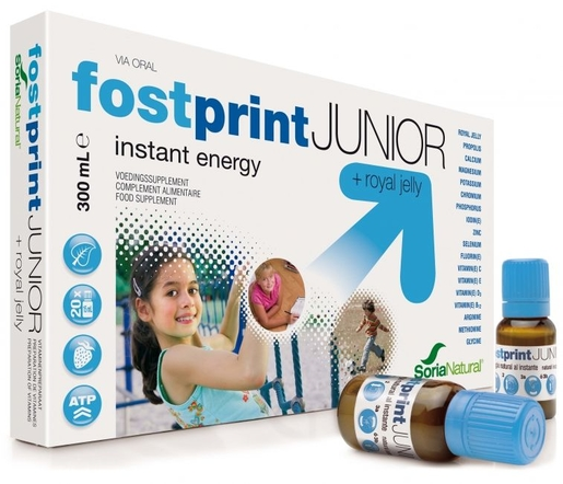 Soria Fost Print Junior Ampoules 20 x 15ml | Forme - Energie