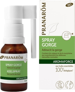 Pranarôm Aromaforce Spray Gorge Bio 15ml