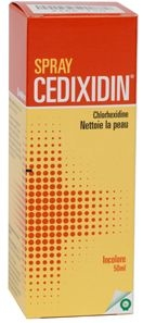Cedixidin Spray Solution Nettoyante 50ml | Désinfectants