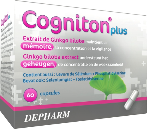 Cogniton Plus 60 Capsules | Mémoire - Concentration