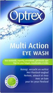 Optrex Multi Action Eye Wash Bain Oculaire 100ml
