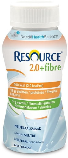Resource 2.0 Fibre Neutre 4x200ml | Nutrition orale