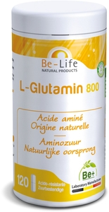 Be-Life L-Glutamin 800 120 Gélules