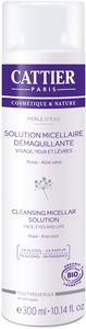 Cattier Perle D'eau Solution Micellaire Démaquillante Bio 300ml