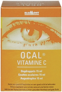 Ocal Vitamine C Gouttes Oculaires 15ml