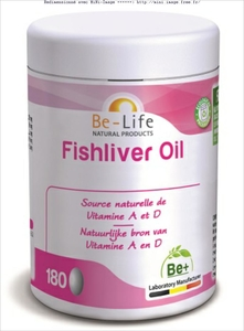 Be-Life Fishliver Oil 180 Gélules