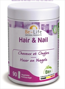 Be-Life Hair & Nail 90 Gélules