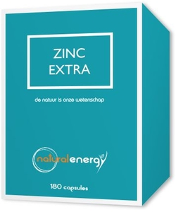 Zinc Extra Natural Energy 180 Capsules