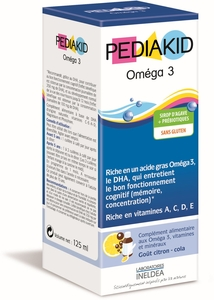 Pediakid Omega-3 Sirop 125ml