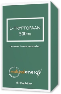 L-Tryptophane Natural Energy 500mg 60 Capsules
