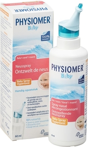 Physiomer Baby Spray Nasal Décongestionnant 60ml