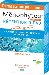 Menophytea Retention Eau 60 Comprimés