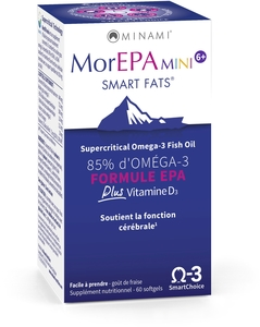 MorEPA Mini Smart Fats 60 Softgels