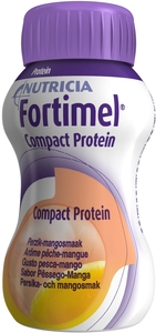 Fortimel Compact Protein Pêche-Mangue 4x125ml