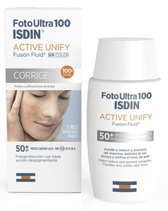 ISDIN FotoUltra Active Unify Fusion Fluid SPF 50+ 50ml