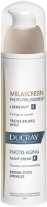 Ducray Melascreen Photo-Aging Crème Nuit 50ml