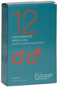 Eubage 12 Performance Masculine 30 Capsules