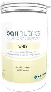 BariNutrics Whey Poudre Nature 21 Portions