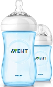 Avent Biberon Natural Bleu Duo 2x260ml