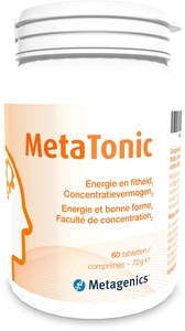 MetaTonic 60 Comprimés