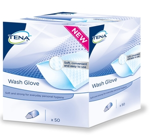 Tena Wash Glove 50 740701