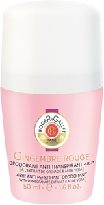 Roger&Gallet Gingembre Rouge Déodorant Roll-on 50ml