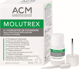 Molutrex 5% Solution Cutanée 3ml