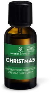 Creation Aromatic Huile Essentielle Diffusion Christmas Gouttes 10ml