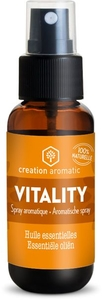 Creation Aromatic Huile Essentielle Diffusion Vitality Spray 30ml