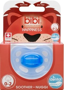 Bibi Happiness Sucette Dental Bleu (de 0 à 2 mois)
