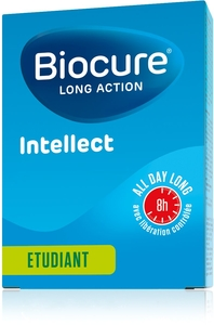 Biocure Long Action Intellect 40 Comprimés