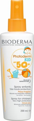 Bioderma Photoderm Kid Spray IP50+ 200ml | Protection solaire